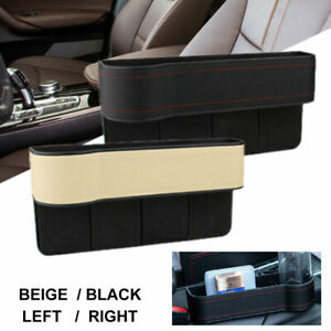 Car Seat Crevice Box Storage Cup Drink Holder Organizer Gap Pocket Stowing ABS