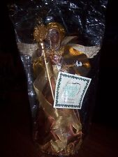 "Sandy Dolls 12"" Angel Asha Tree Topper"