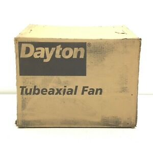 "NEW DAYTON 4C659B ALUMINUM 12"" TUBEAXIAL FAN"