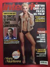 ★ MAGAZINE REVISTA INTERVIU JANUARY 2018 - MARY MARKOVA on cover - NEW NUEVA