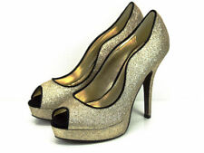 Party Wet look, Shiny Slim Heels for Women