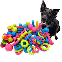 1pc Pet Dog Toy Bite Resistant Small Dog Rubber Molar Toy Yorkie Puppy Chew Toys