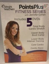 Weight Watchers Points Plus Fitness Series Jennifer Cohen(Dvd) Sealed! Brand New