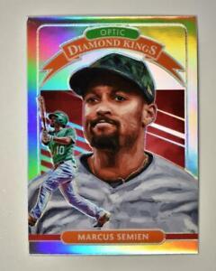 2020 Donruss Optic Diamond Kings Holo #10 Marcus Semien - Oakland A's