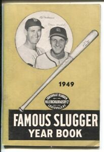 Famous Slugger Yearbook 1949-Ted Williams-Stan Musial-baseball top sluggers i...