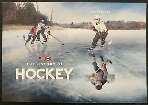 2017 Scott #5253c - Forever - HISTORY OF HOCKEY SOUVENIR SHEET OF 2 - Mint NH