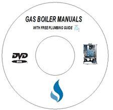 1700+ CORGI GAS BOILER SERVICE & HEATING + PLUMBING MANUALS ON DVD