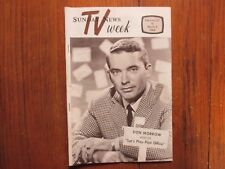 Feb-1966 Lancaster Pa TV Week Maga(DON MORROW/BARRY NELSON/LETS PLAY POST OFFICE