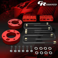 """For 04-17 Ford F-150 4WD Black 2.5/"""" Front+1.5/"""" Rear Complete Leveling Lift Kit"""