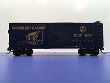 "HO Scale ""Eastwood Short Line - Sandblast Cabinet"" 9578 Freight Train Box Car"