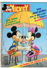 LE JOURNAL DE MICKEY n°1934 ¤ 1989 ¤ AVEC MINI-BD ET MINI-GUIDE n°4