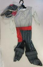 Toddler Pirate Halloween Costume Outfit Dress Up Jumpsuit and Hat Size 18-24 Mo