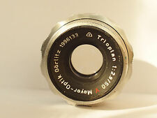 Meyer-Optik Görlitz Red V Trioplan 50mm F2.9 50mm to Canon,NEX,GH4,BMPCC,Nikon