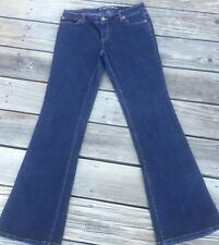 DKNY WOMENS JEANS Size S Small Inseam 32 Boot Cut Blue Denim GREAT COND