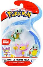 Pokemon Box Aipom Squirtle 4cm Original Wct Battle Figure