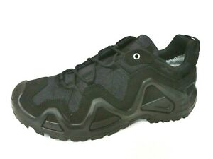 Lowa Zephyr GTX Lo Task Force Herren Halbschuhe Sneaker schwarz Leder Gore-Tex