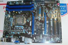 MSI H55-G43 Motherboard Socket LGA1156 HDMI MSI-7638 & I3 SLBLR CPU 100% tested