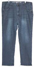 Beverly Hills Polo Club Mens Indigo Blue Straight Leg Jeans 44/32, 44W 32L EUC