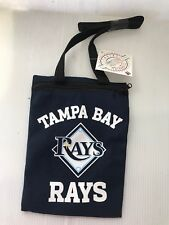 TAMPA BAY RAYS Game Day Pouch PURSE ZIPPER BAG CASE MAKEUP CAMERA GLASSES