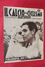 Rivista Sportiva IL CALCIO e il CICLISMO ILLUSTRATO Anno 1960 N°33 RIK VAN LOOY