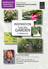 Inspiration From the Garden in Watercolor, Susan Bourdet - Art Education DVD
