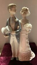 Vintage Lladro Figurine Bride And Groom Glossy 4808