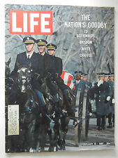 LIFE Magazine FEB 1967  THE NATION'S GOODBY TO ASTRONAUTS GRISSOM*WHITE*CHAFFEE