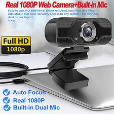 Real 1080P Full HD Web Camera USB 2.0 Webcam+Microphone For PC Desktop & Laptop