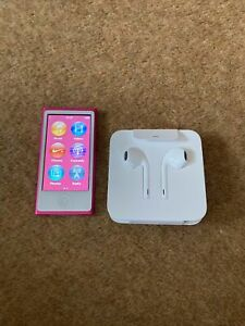 Apple iPod Nano 7th Generation 16GB Pink - Contains Albums & Songs