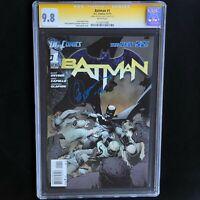 BATMAN #1 (2011) 💥 CGC SS 9.8 💥 SIGNED by GREG CAPULLO! DC New 52