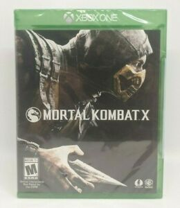 Mortal Kombat X (Microsoft Xbox One) Brand New, Factory Sealed NIB