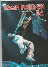 Iron Maiden Limited Edition Fan Club Only Magazine #92
