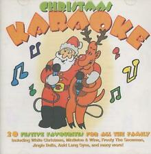 CHRISTMAS KARAOKE S/T CD Europe Crimson 20 Track Including Mistletoe And Wine