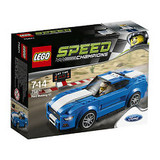 LEGO ® Speed Champions 75871 FORD MUSTANG GT Nouveau neuf dans sa boîte NEW En parfait état, dans sa boîte scellée Boîte d'origine jamais ouverte