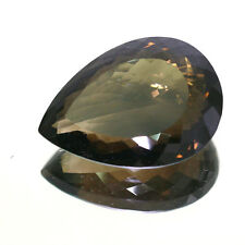 199.70 Ct NATURAL HUGE MUSEUM SIZE MORION SMOKY QUARTZ  PEAR SHAPE GEMSTONE-AAA+