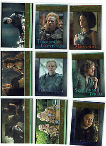 Game of Thrones Season 6 GOLD Base Parallel Card Selection 1:24 Packs #***/150