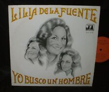 LILIA DE LA FUENTE Yo Busco un Hombre LP FEMME TEX MEX RECORD RARE