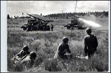 "Polen Armee ""Katiusze"" Militär Militaria 1965 Postkarte Kampfmittel Abschuss"