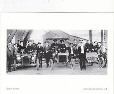 """""""Early Autos"""" Get Ready for Race @ Hills- @ Tombstone Arizona {Postcard} (A91-1)"""