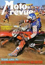 MOTO REVUE 2293 YAMAHA DT 250 400 MOTOBECANE D55 SUZUKI Olivier Chevalier 1976