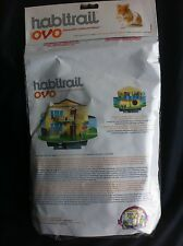 Habitrail Ovo Chewable Cardboard Doll house Maze Hamster by Hagen