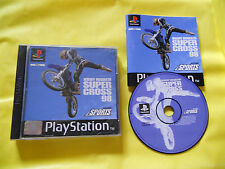 PS1 GAMES: JEREMY McGRATH SUPERCROSS 98-SONY PLAYSTATION-PS1-PS2-PS3-PAL-ITA-PSX