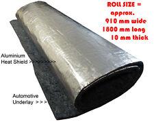 Underfelt Underlay Soundproofing Felt & Aluminium Heat Shield