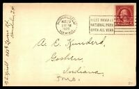 HAWAII HONOLULU  MARCH 29 1926 SINGLE FRANKED COVER TO GOSHEN IN