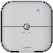 Orbit Sprinkler Timer Watering Irrigation 4-Zone B-hyve Smart Wi-Fi Indoor