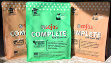 3 NEW bags 5.25 lb Sojos Freeze Dried Raw Goat & Chicken COMPLETE Dog Food!