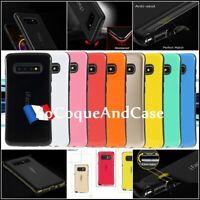 Etui coque hybride antichoc iFace Mall case Samsung Galaxy S10, S10e, S10+, Film