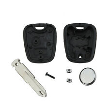 Repair KIT for Peugeot 206 2 button remote key case switches & battery DSUK