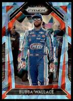 2020 Prizm Racing Carolina Blue Cracked Ice #15 Bubba Wallace /25
