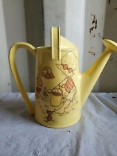 Vintage 1970s Butterfly Planter Watering Can/planter little girl